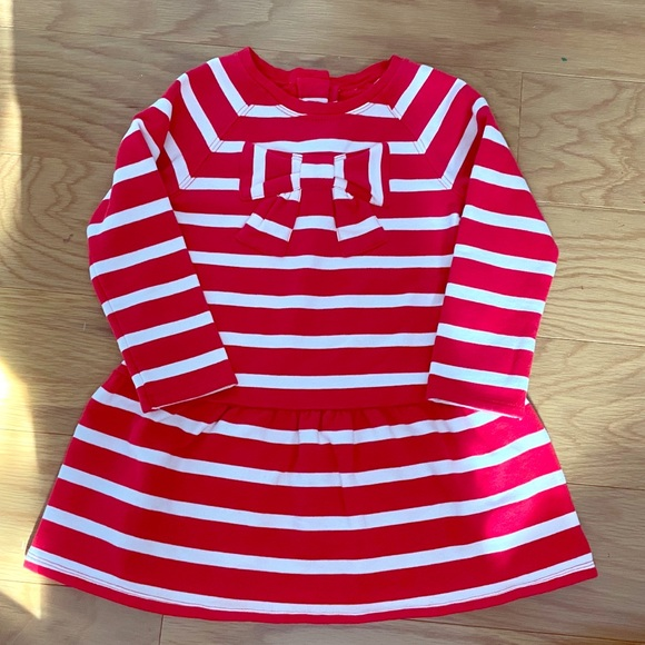 3/$24❗️Gymboree red and white bowknot dress size 2T